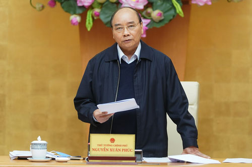 Thủ tướng Nguyễn Xuân Phúc. (Ảnh:VGP)