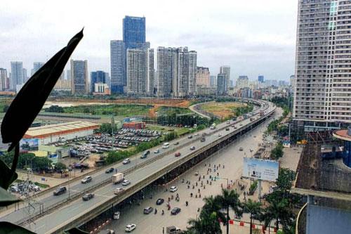 Lượng giao dịch giảm nhưng giá nhà tại hai thành phố lớn là Hà Nội và Tp.HCM không giảm (Ảnh Tư liệu)