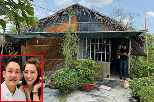 Hậu rao bán nhà 5 tỉ đồng, vợ chồng Hải Băng 'tậu' đất ở quê để làm nơi nghỉ dưỡng