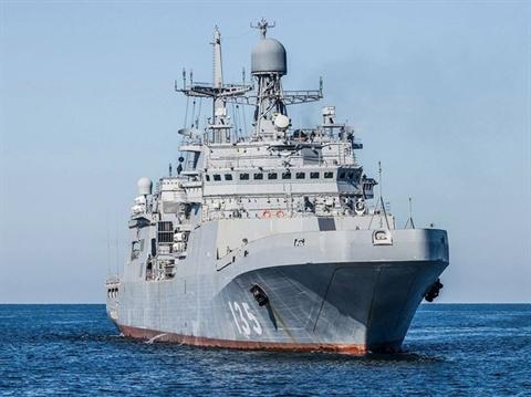 Tàu đổ bộ Ivan Gren - Dự án 11711 của Hải quân Nga