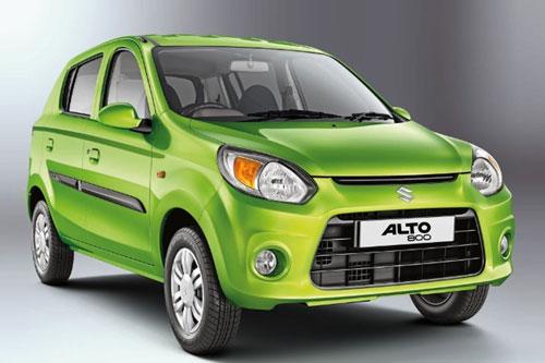 2. Suzuki Alto (doanh số: 10.829 chiếc).