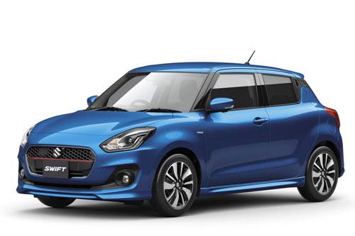 4. Suzuki Swift (doanh số: 8.575 chiếc).