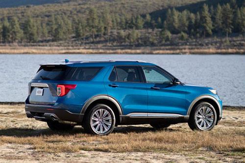 5. Ford Explorer (doanh số: 56.310 chiếc).