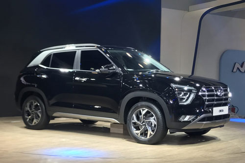 6. Hyundai Creta (doanh số: 6.706 chiếc).