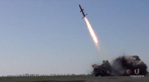 """Ukraine thử tên lửa chống hạm có thể """"tiêu diệt mọi tàu chiến Nga"""""""