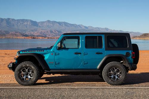 9. Jeep Wrangler (doanh số: 39.668 chiếc).