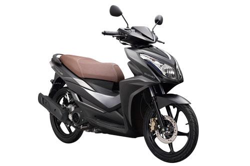 Cận cảnh xe ga Suzuki 124 phân khối, giá 31,99 triệu tại Việt Nam