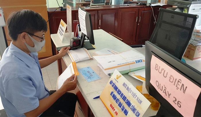 Doanh nghiệp, người dân được miễn 100% cước chuyển phát bưu chính công ích đến hết ngày 30/6/2020 khi sử dụng dịch vụ công trực tuyến