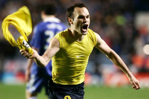 Top 10 bàn thắng đẹp nhất của Iniesta ở La Liga