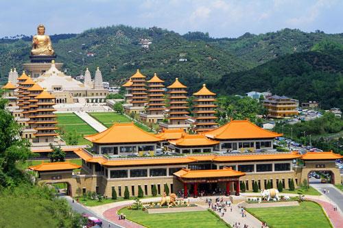 Phật Quang Sơn Tự được xem là kinh đô Phật giáo Đài Loan