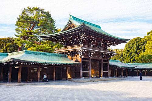Đền Meiji, nơi nhất định bạn phải ghé thăm khi tới Nhật Bản