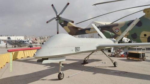 Mặc dù Jordan không được biết có bất kỳ UAV Wing Loong nào, nhưng nó đã đưa sáu chiếc CH-4 lên để bán vào năm 2019. Ảnh: Jane's / Patrick Allen.
