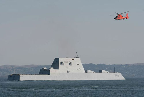 Tàu USS Zumwalt của hải quân Mỹ
