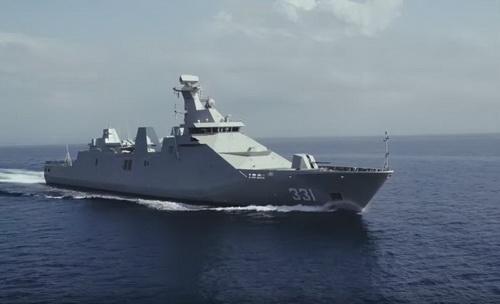 Tàu hộ vệ tên lửa tàng hình SIGMA 10514 của Indonesia. Ảnh: Topwar.