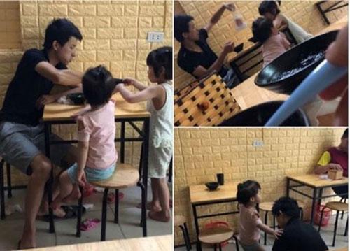 Chồng lén trốn vợ đưa 2 con nhỏ ra ngoài ăn chè và sự thật nghẹn lòng phía sau