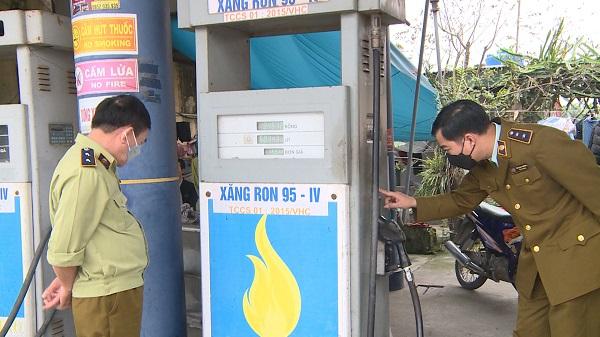 Thái Bình: Vi phạm điều kiện kinh doanh, 1 cửa hàng xăng dầu bị xử phạt 40 triệu đồng