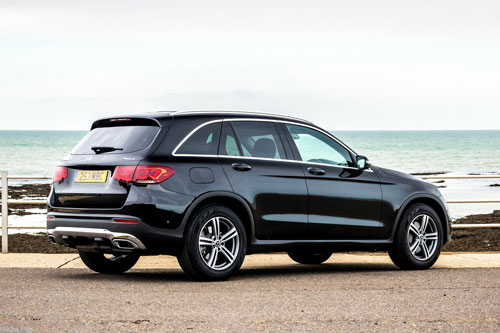 6. Mercedes-Benz GLC.