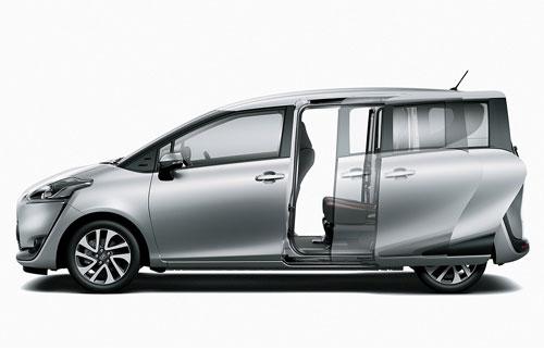 6. Toyota Sienta (doanh số: 10.456 chiếc).