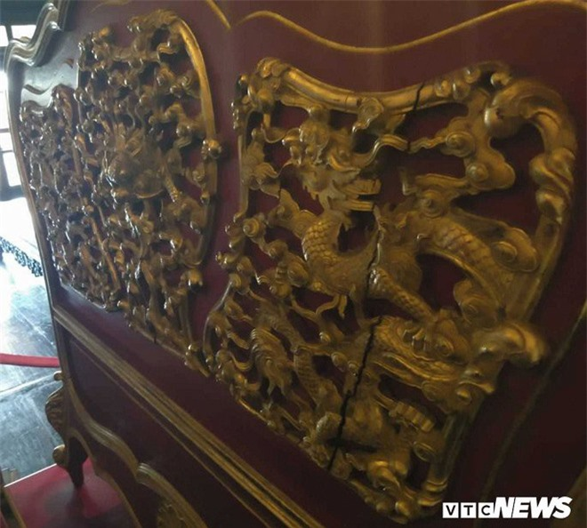Cận cảnh long sàng dát vàng của vị hoàng đế nhiều tai tiếng bậc nhất triều Nguyễn - Ảnh 4.
