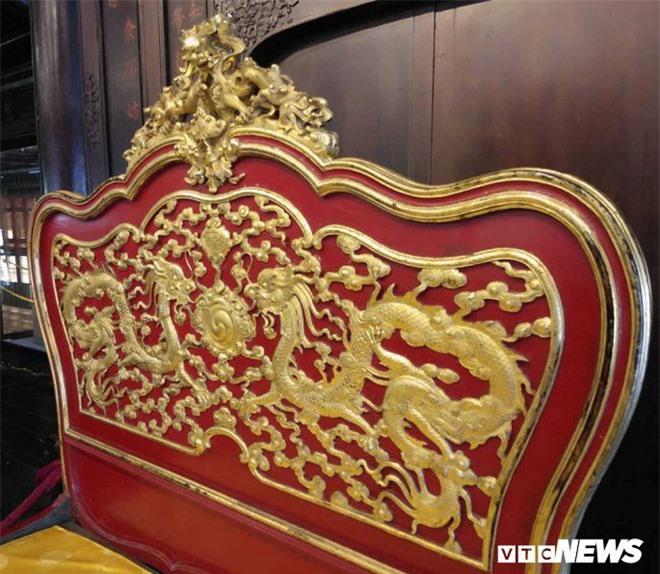 Cận cảnh long sàng dát vàng của vị hoàng đế nhiều tai tiếng bậc nhất triều Nguyễn - Ảnh 5.