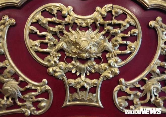 Cận cảnh long sàng dát vàng của vị hoàng đế nhiều tai tiếng bậc nhất triều Nguyễn - Ảnh 6.