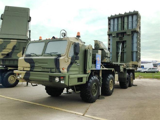 S-350 Nga: Khép chặt vòng vây, đánh chặn cơn mưa tên lửa của kẻ thù - Ảnh 2.