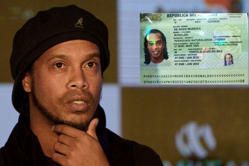 Ronaldinho chấp nhận trả 1,6 triệu USD để được quản thúc tại khách sạn