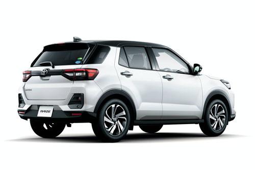 4. Toyota Raize (doanh số: 12.009 chiếc).