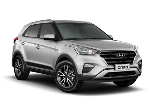 4. Hyundai Creta (doanh số: 6.803 chiếc).