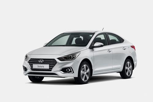 7. Hyundai Solaris - tên gọi khác của Hyundai Accent (doanh số: 4.245 chiếc).