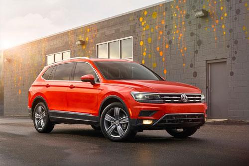 9. Volkswagen Tiguan (doanh số: 3.568 chiếc).