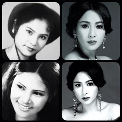 Ngỡ ngàng nhan sắc mẹ Thanh Lam thời trẻ - 3