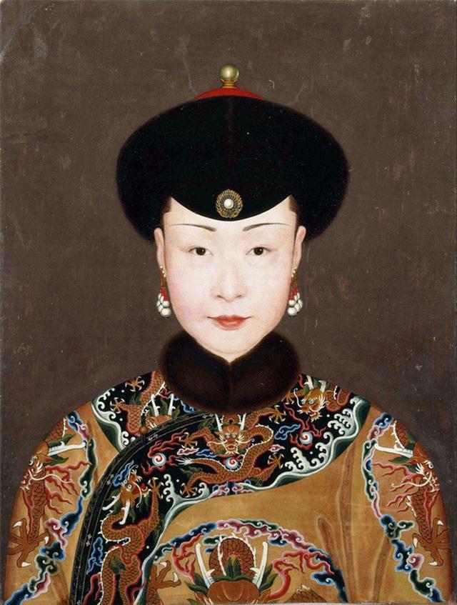 Bức tranh chân dung duy nhất của Kế Hoàng hậu may mắn còn lưu lại cho tới ngày nay. (Nguồn: Baidu).