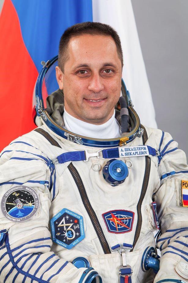 Phi hành gia Nga Anton Shkaplerov.
