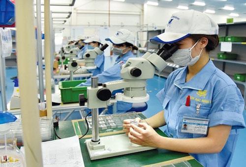 Doanh nghiệp FDI trông chờ vào các chính sách hỗ trợ của Chính phủ (Ảnh: Tư liệu)