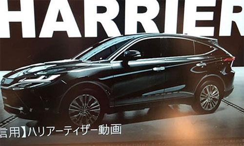 Toyota Harrier 2020.