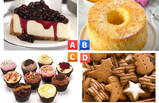 Bạn chọn chiếc bánh nào?