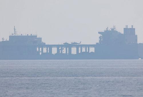 Khám phá 'căn cứ di động' khổng lồ của hải quân Mỹ