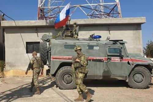 Quân cảnh Nga làm nhiệm vụ tại miền Bắc Syria. Ảnh: Avia-pro.