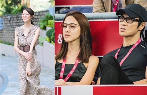 Bà xã Trịnh Gia Dĩnh, Hoa hậu Trần Khải Lâm thường ra ngoài với ông xã mà không trang điểm.