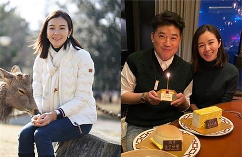Cựu á hậu Hong Kong Mạch Minh Thi trong đời thường và khi lên màn ảnh cũng không khác xa là bao.