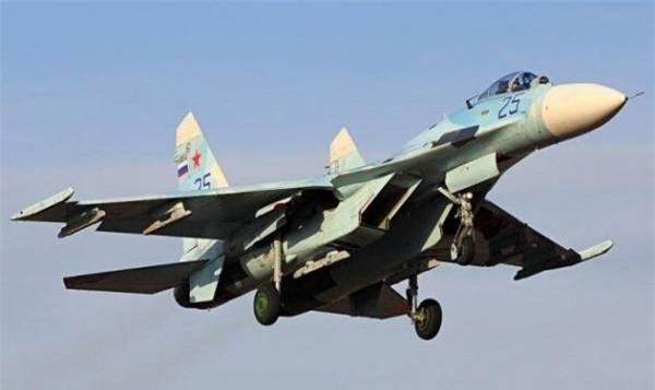 Máy bay Su-27 của Không quân Nga - ảnh tư liệu minh họa.