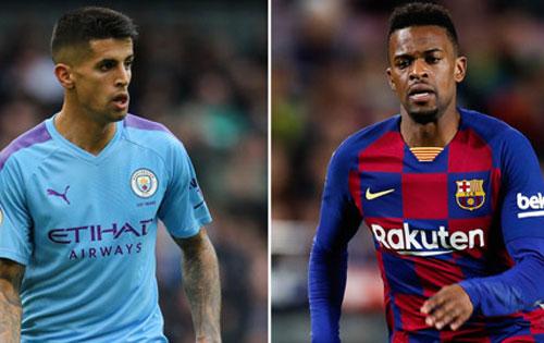 Barca muốn đổi Nelson Semedo lấy Joao Cancelo của Man City.