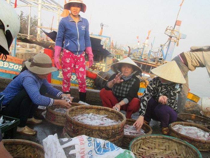 Ngành Thuỷ sản và chính quyền địa phương tích cực khuyến cáo ngư dân và những thương lái tại các cảng cá thực hiện các biện pháp phòng chống Covid-19
