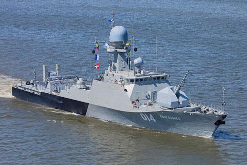 Thời gian vừa qua, cùng với các quân binh chủng khác, lực lượng hải quân Nga cũng đã được đầu tư mua sắm, trang bị rất nhiều phương tiện tác chiến thế hệ mới.