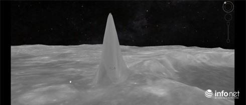Cụm tháp cao 5 km xuất hiện trên Mặt Trăng? - ảnh 1