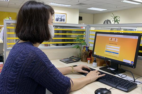 Người sử dụng đăng ký tài khoản PostID trên hệ thống định danh xác thực điện tử