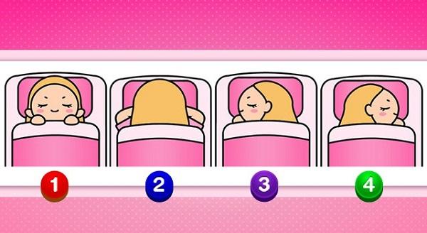 Bạn chọn tư thế ngủ nào?