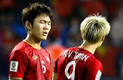Vị trí của Lương Xuân Trường đang có nhiều cầu thủ thi đấu rất hay.