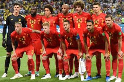 1. Bỉ - Điểm số: 1.765.